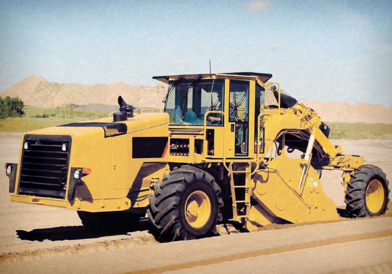 Maquinaria pesada en Construcción